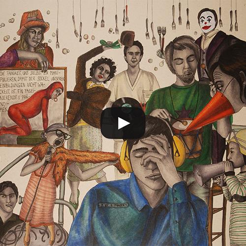 Julie Weissbach Illustration Trickfilm Stop Motion